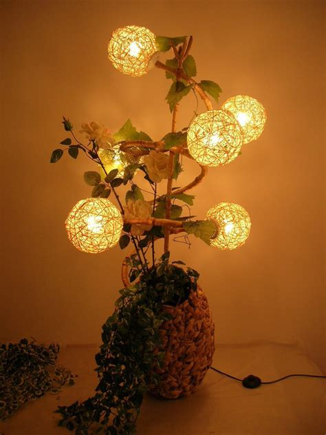 Handmade Bulbs - creative handmade table ls l ideas