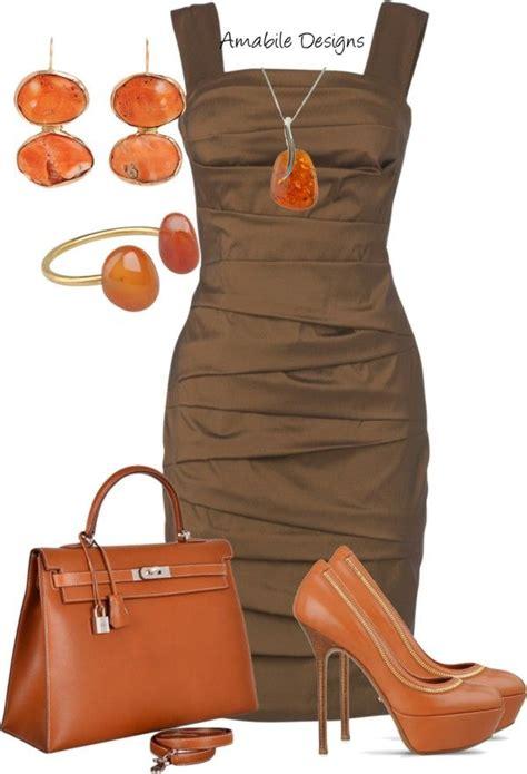 Lauretta Basic Dress 36 best brown dress accessories attire idea s for basic
