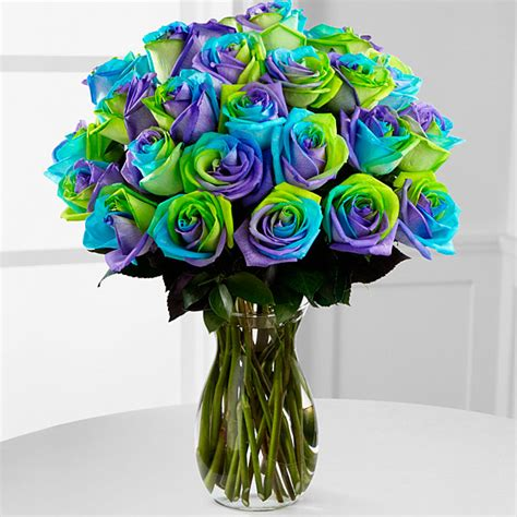 rainbow colored roses rainbow roses multi colored flowers tie dye roses from