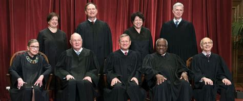 meet the 9 sitting supreme court justices abc news