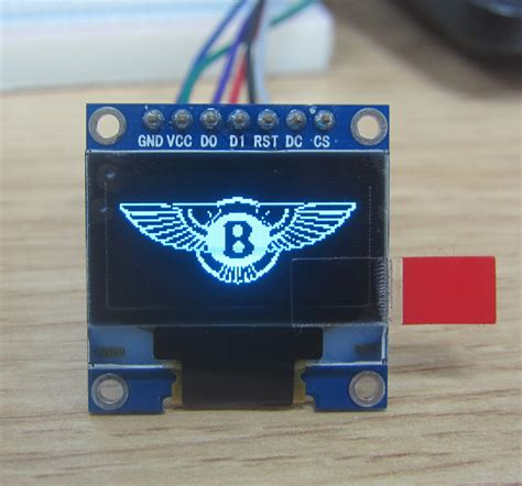 Oled Module 2 Colors White And Blue oled 0 96inch 12864 display module blue