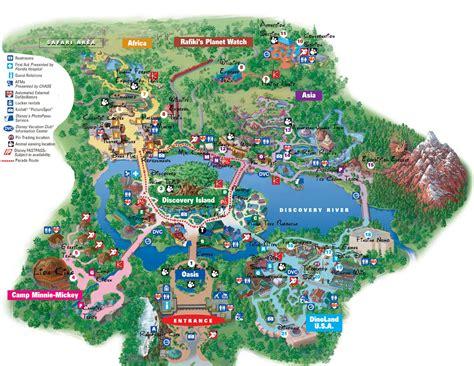 maps disney world florida disney world adventure disney animal kingdom map