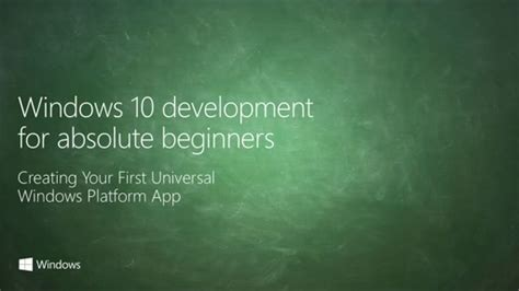 4 for absolute beginners develop apps for ios books uwp 002 creating your universal windows platform