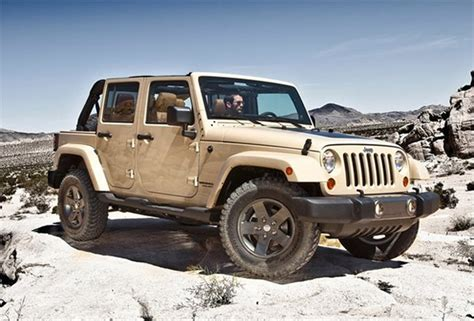 Limited Edition Jeep Wrangler 2011 Jeep Wrangler Mojave Limited Edition All The Auto