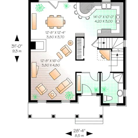 monster home plans any style house plans 1692 square foot home 2 story 3