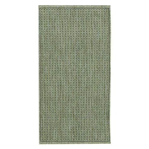 home decorators collection saddlestitch green black 2 ft