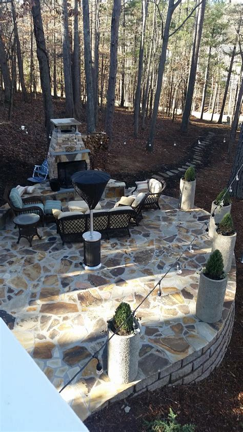 nantucket style backyard renovation in milton ga