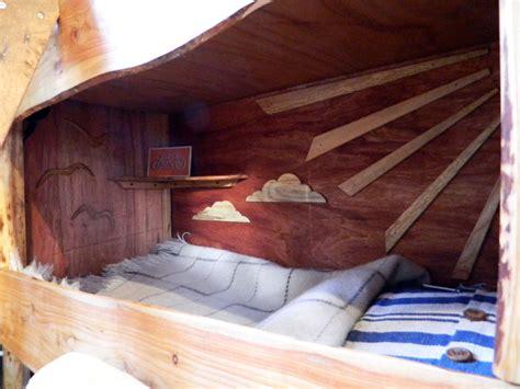 rustic camper interior inhabitat green design