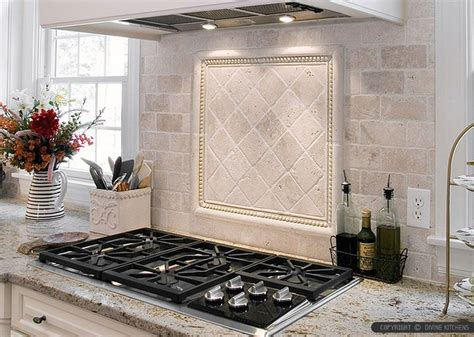 kitchen backsplash travertine tile antiqued 4x4 ivory travertine backsplash tile cabinet