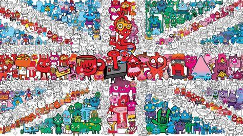 how to create digital doodle digital illustration doodles to designs jon burgerman