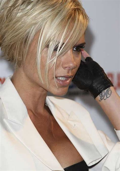 Victoria Beckham Concave Bob | choppy inverted bob photos articles and pictures