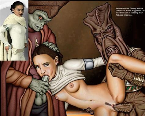Nute Gunray Padme Amidala Poggle The Lesser Animated Star Wars