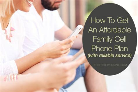 affordable family cell phone plan option  cut