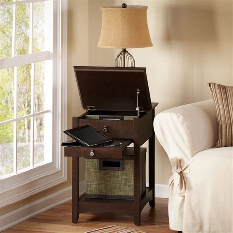cherry end tables living room modern cherry laptop quot end table quot living room accent lounge