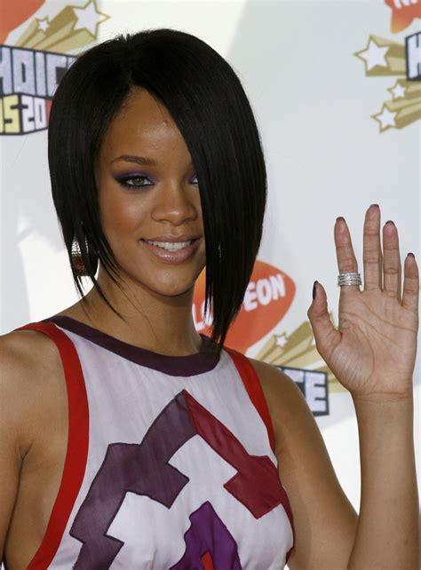 Rihanna Bob Hairstyle by Rihanna Hairstyles Photos Of Rihanna S Best Hair Moments