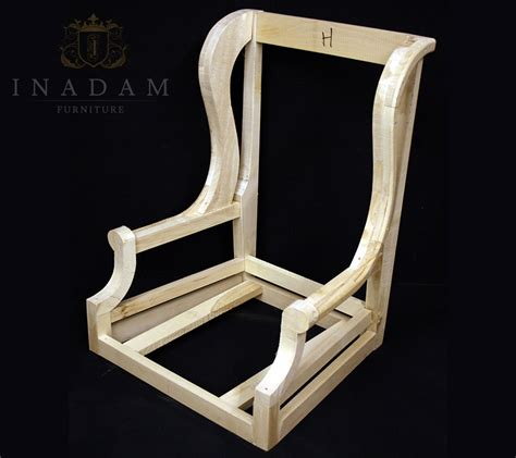 wood frame wingback chair inadam furniture frames for upholstery inadam furniture