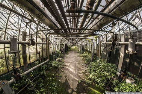 abandoned greenhouse complex  moscow russia travel blog