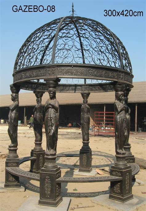 iron gazebo for sale hengsheng outdoor garden cast iron gazebos for sale buy