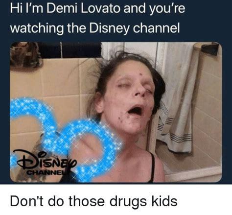 demi lovato and disney channel hi l m demi lovato and you re watching the disney channel