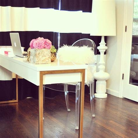 white desk with gold legs best 25 white lacquer desk ideas on pinterest silver