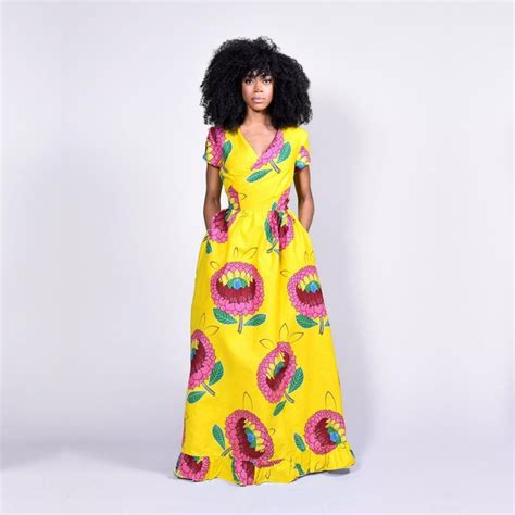 Images Of Ankara Gown Styles | ankara styles gown