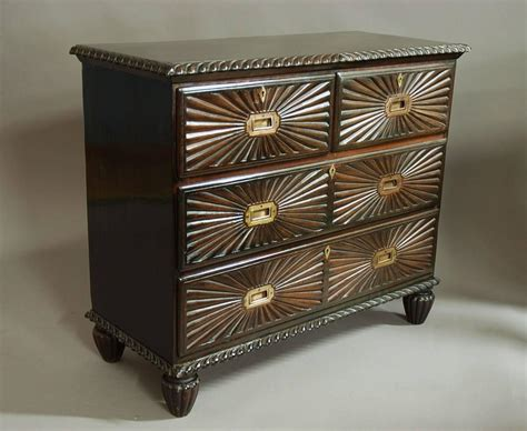 19th century anglo indian padouk chest of drawers at 1stdibs