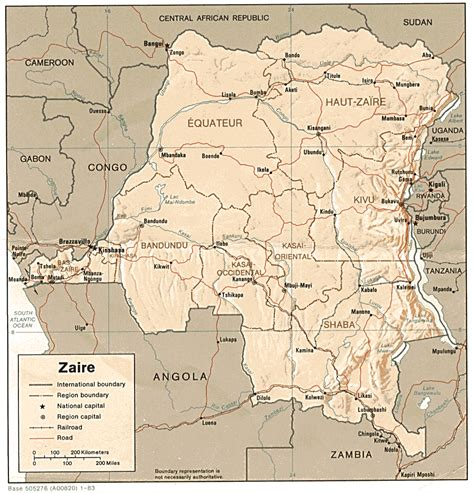 africa map congo nationmaster maps of congo democratic republic of the