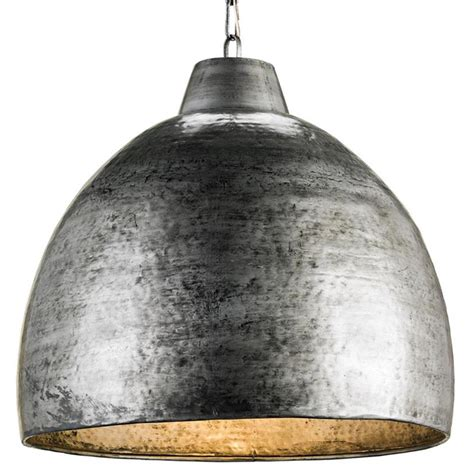 Industrial Metal Pendant Lights Industrial Loft Hammered Metal Modern 1 Light Pendant