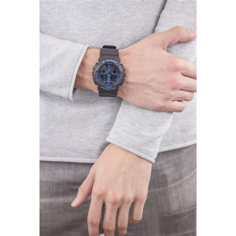 orologio casio g shock orologio cronografo uomo casio g shock ga 100 1a2er