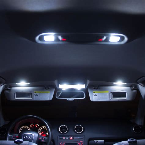 led interior lights audi a5 s5 interior led bulbs kit xenon white led