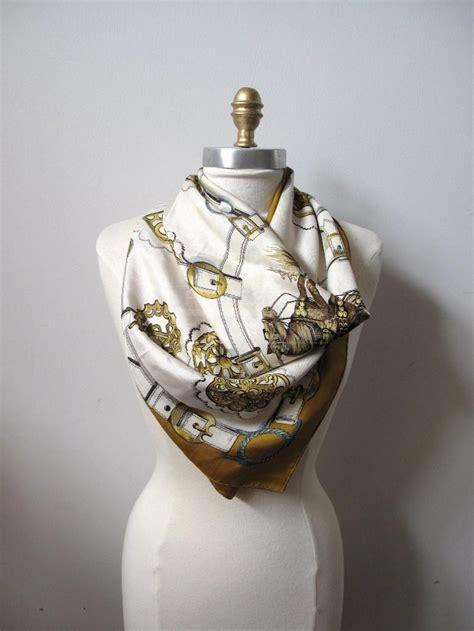 hermes vintage cuivreries silk scarf 350 0000