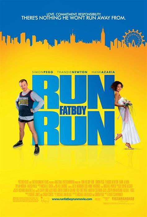film it and run run fat boy run movie poster 1 of 5 imp awards