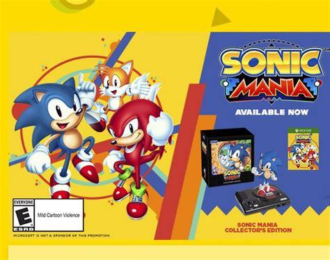 Sonic Giveaway - sonic mania giveaway sweepstakes