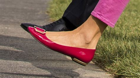 melania shoes melania trump s pink style from to toe footwear news