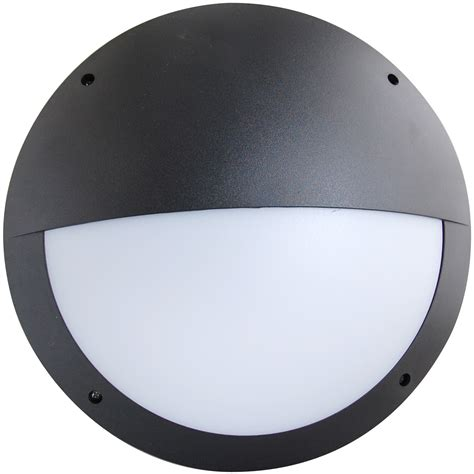 led light with diffuser eterna led amenity light black with eyelid diffuser
