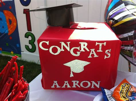 how to make graduation card box best 25 graduation card boxes ideas on