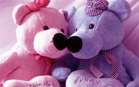 wallpaper desktop teddy bear pink and blue teddy bear wallpaper computer 62 7639