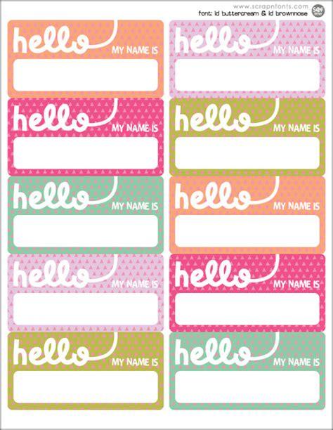 printable name tags pinterest free name tag printable classroom management pinterest
