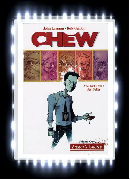 Chew Vol 1 Taster S Choice Graphic Novel Ebook E Book rabbit ears book book review chew taster s choice volume 1 by layman