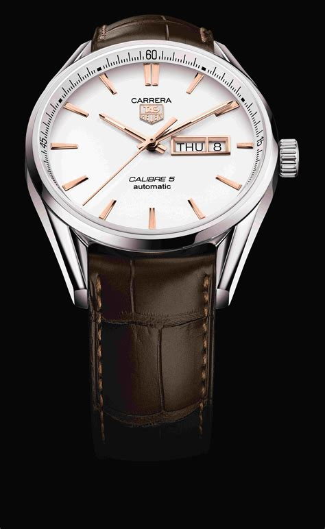 Tag Heuer V4 Kulit Silverwhite orient publication tag heuer unveils the golden