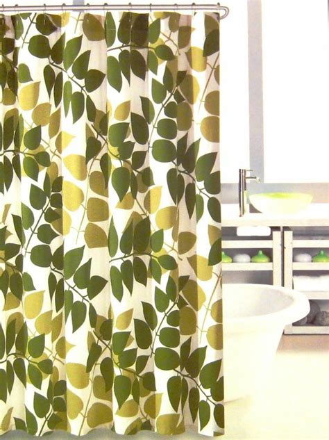 olive green shower curtain hillcrest shower curtain leaves olive avocado green