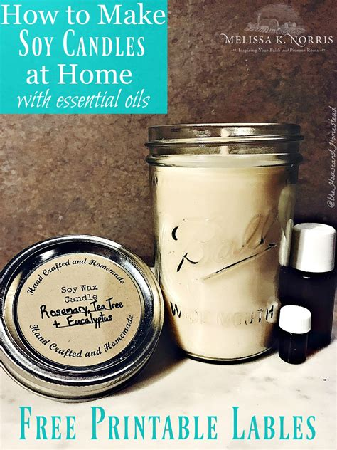 how to make candles at home how to make soy candles at home with essential oils