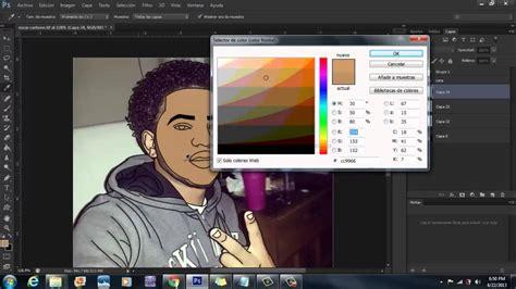 tutorial edit photoshop youtube tutorial crear dibujos animados adobe photoshop cs6 2