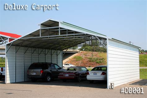 Coast To Coast Carports Utah metal deluxe style building offered by coast to coast carports