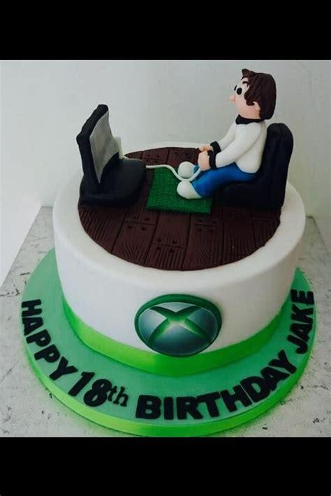 xbox themed birthday cake xbox one cake andys 30th pinterest xbox xbox one