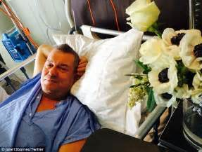 jimmy barnes surgery jimmy barnes spends s day recovering from back