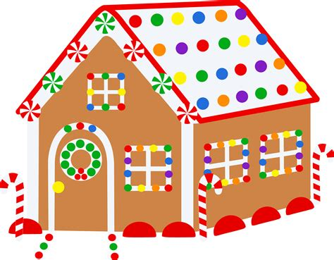 gingerbread house christmas gingerbread house free clip art