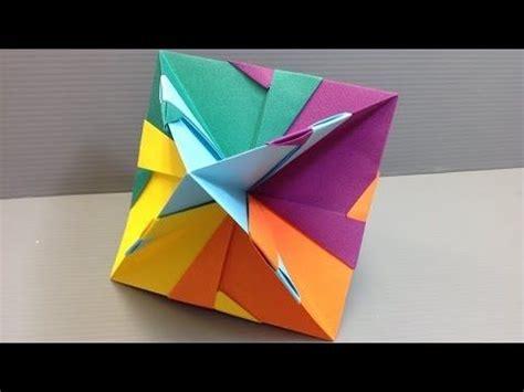 Origami Sphere Tutorial - 1442 mejores im 225 genes sobre origami kumitate en