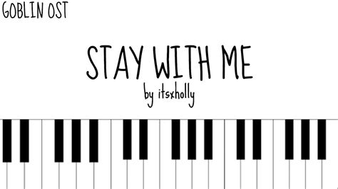 tutorial keyboard stay with me stay with me chanyeol x punch piano tutorial youtube