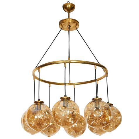 glass globe chandelier murano glass globe chandelier for sale at 1stdibs